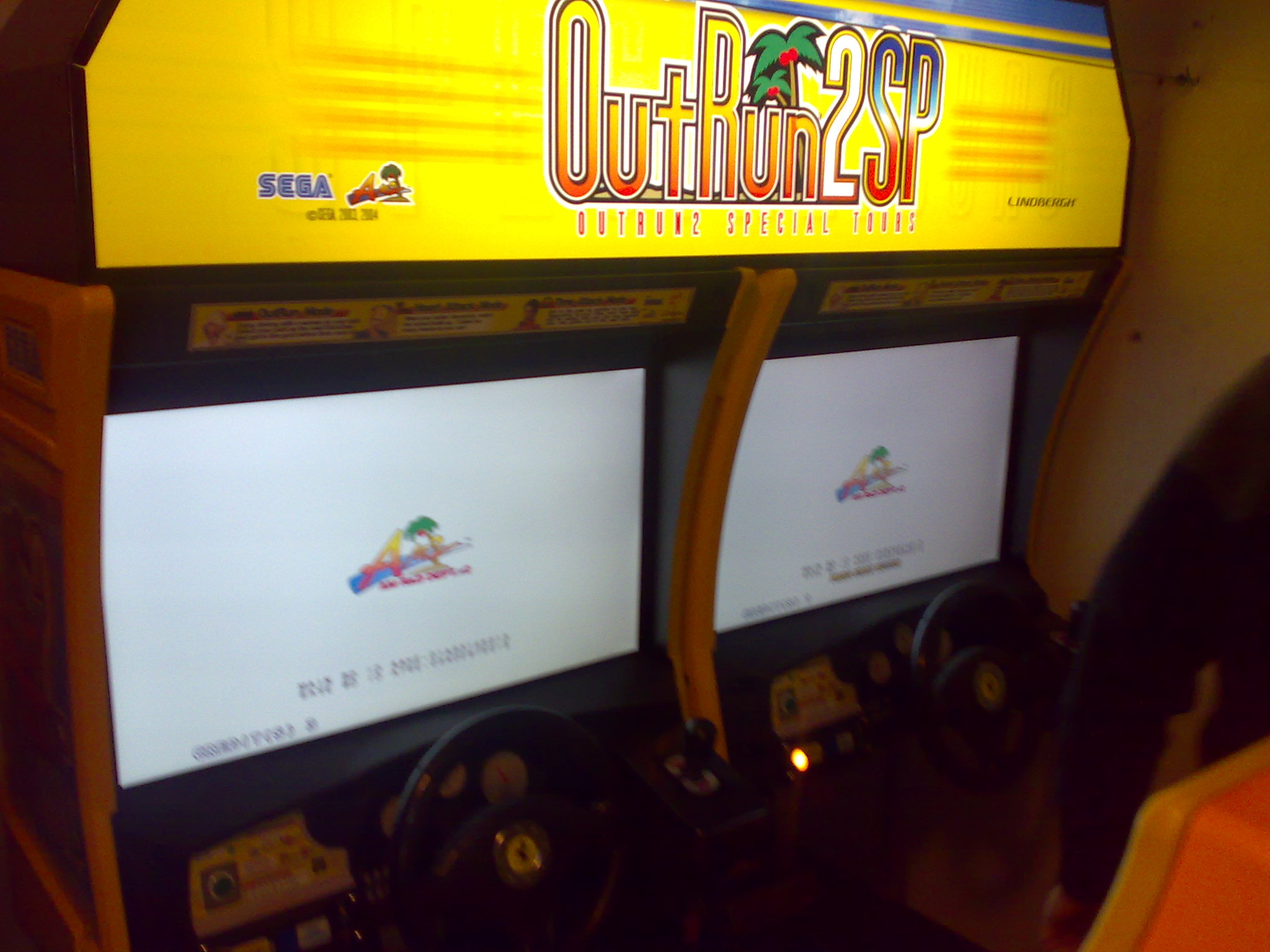 Daytona Usa Converting A Twin Cabinet Correctly Arcade Game Wiring Diagram He Also Happens To Own These