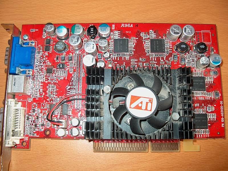 Radeon 9600 Series драйвер скачать